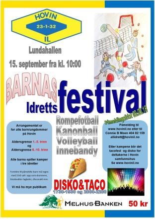 Barnas idrettsfestival 2018